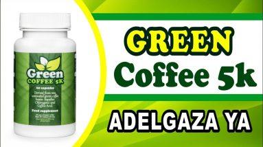 ☕😉Pastillas de Cafe Verde para Adelgazar de Green Coffee 5k