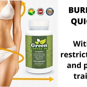 BURN FAT QUICKER || Green Coffee 5K will help you to lose 20kg weight  in 60 days . Get slim body